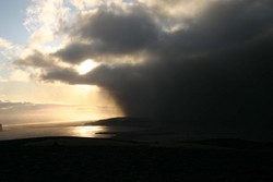 from Reynisfjall near Vík