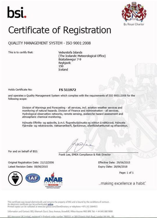 Quality management certification | Quality management